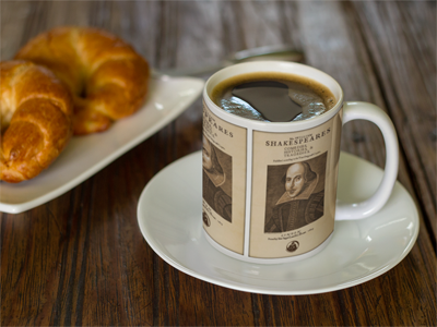 Shakespeare First Folio Mug