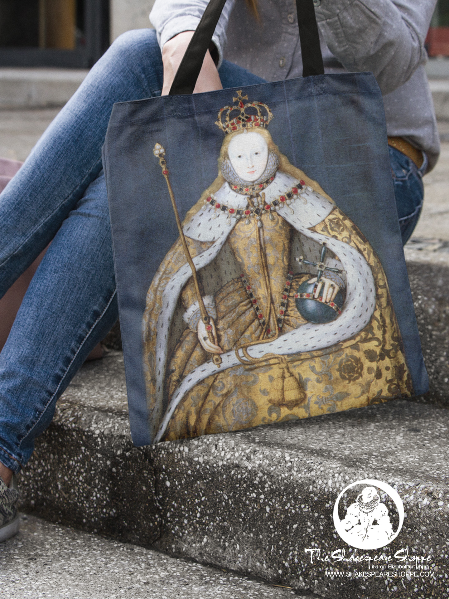Focus On: Elizabeth I Coronation Tote Bag