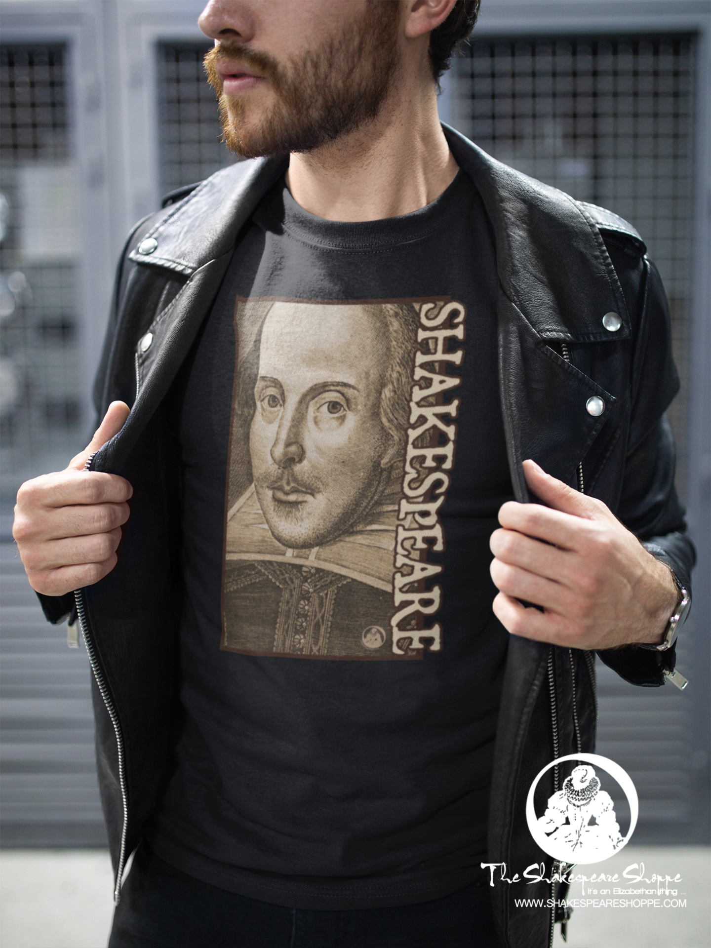 Focus On: Shakespeare Droeshout Engraving Portrait Unisex T-shirt #Shakespeare #tshirt